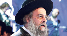 Ravtech's founder Rabbi David Leybel. Photo: PR