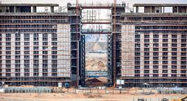 מוסף שבועי 18.7.19 קהיר מקלט עבודות ההקמה של עיר חדשה מצרים, צילום: איי אף פי