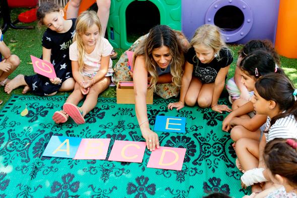 A class at the ABC Learning preschool in Be'er Ya'akov. Photo: Amit Sha'al
