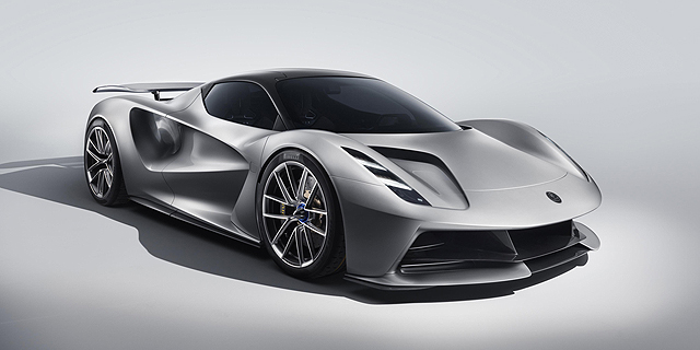 לראשונה בתולדותיה: לוטוס מציגה מכונית חשמלית