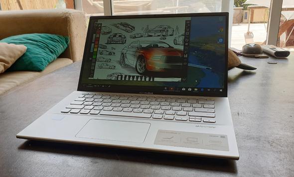 תוכנת ציור שהותקנה במחשב