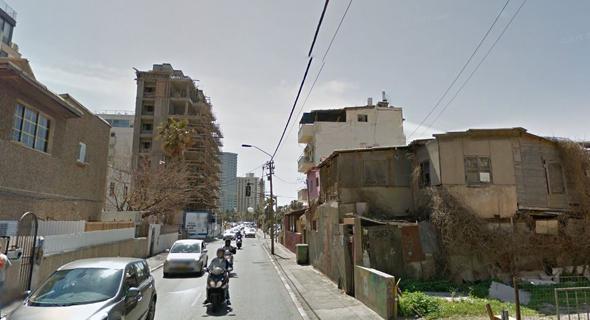 רחוב הירקון בתל אביב, מקור: גוגל סטריט ויו