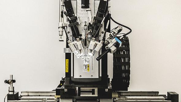 רובוט השתלת השבבים המוחיים