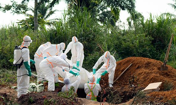 התפרצות אבולה בקונגו, צילום: איי פי