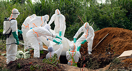 התפרצות האבולה בקונגו, צילום: איי פי