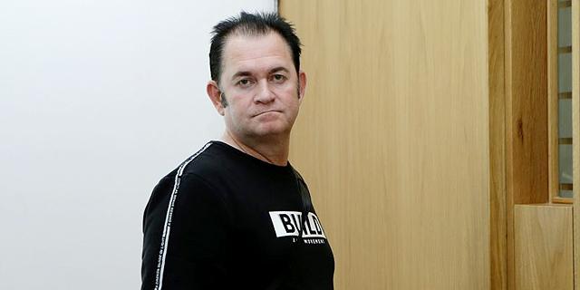 אבישר ויסמן, במהלך עדות רוני אליאס בית משפט, צילום: עמית שעל