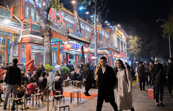 Beijing's nightlife. Photo: Shutterstock