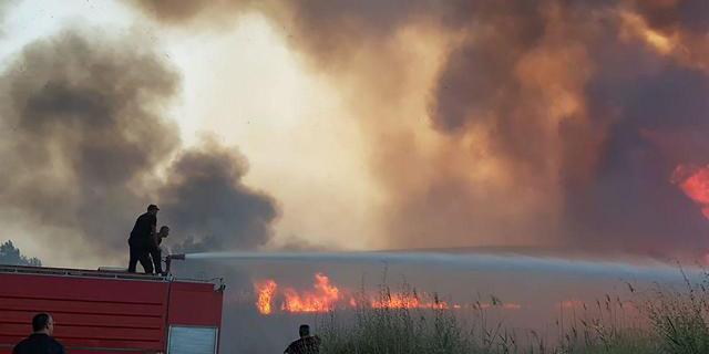 השריפה בכניסה לירושלים