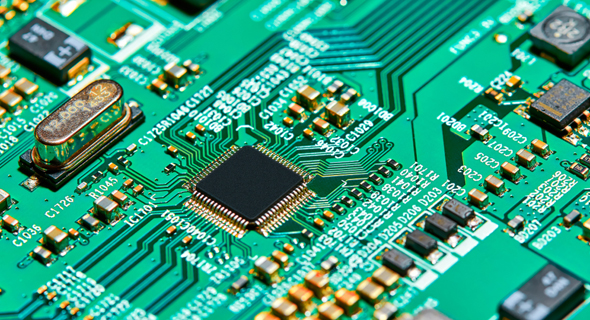 A silicon chip (illustration). Photo: Shutterstock