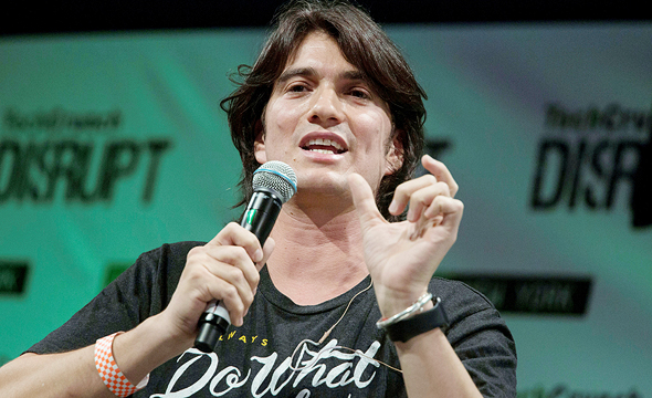WeWork co-founder and CEO Adam Neumann . Photo: Bloomberg