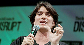 WeWork co-founder and CEO Adam Neumann. Photo: Bloomberg