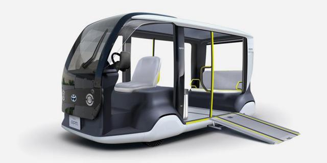 טויוטה מציגה: רכב זעיר לאולימפיאדת טוקיו ב-2020