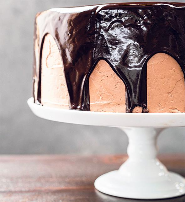 עוגת שוקולד של Birdie G's, צילום: jim sullivan