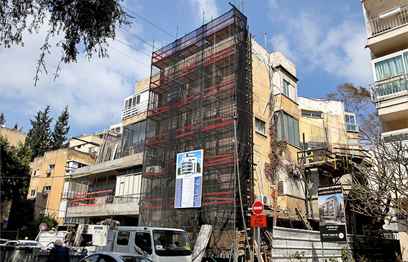 """פרויקט תמ""""א 38 בתל אביב , צילום: אוראל כהן"""