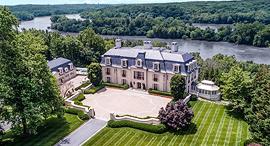 אחוזה למכירה על גדות הפוטומק וושינגטון  דן סניידר המלך חוסיין 4, צילום: Sotheby's International