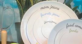 צלחת אוכל מייסיס לפי מידות ג'ינס, צילום: Alie Ward/Twitter