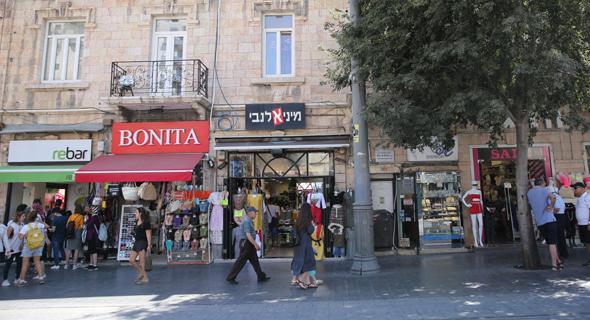המתחם ברחוב יפו בירושלים, צילום: אלכס קולומויסקי