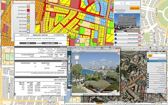 """מערכת המפות וה-GIS של עיריית תל אביב. """"ככל שהמאגר מקצועי יותר, יעילות הרשות גוברת"""""""