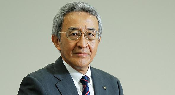 """טסויושי נגאנו, יו""""ר טוקיו מארין אחזקות"""