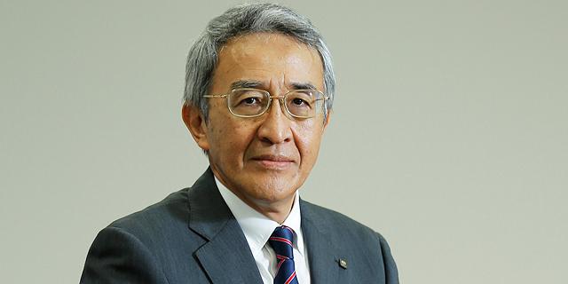"""טסויושי נגאנו, יו""""ר טוקיו מארין אחזקות, צילום: בלומברג"""