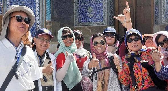 רק 52 אלף תיירים סינים הגיעו לאיראן בשנה הפרסית שהסתיימה במרץ האחרון, צילום: mehrnews