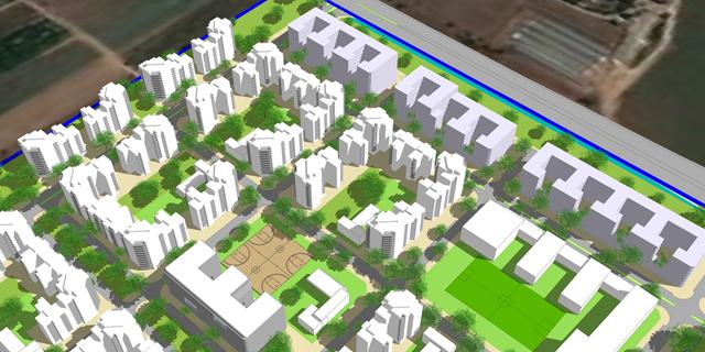 בקרוב: שכונת ענק חדשה ביהוד עם 3,200 דירות
