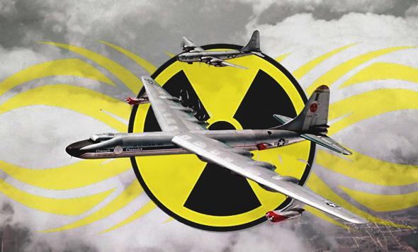 בשביל למנוע מלחמה אטומית השתמשו בזמן המלחמה הקרה בטלפרינטר, צילום: USAF + Freevector