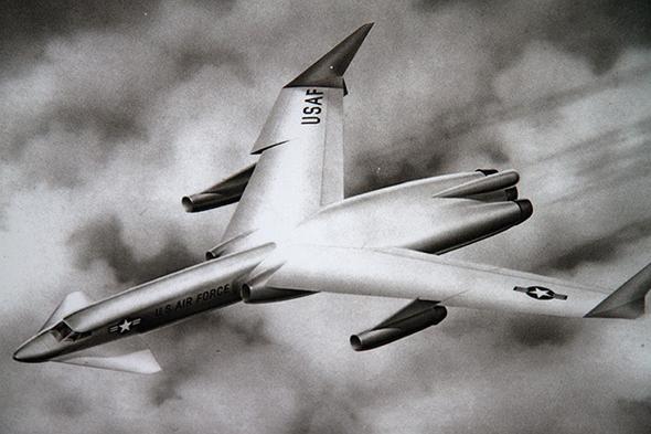 עיצוב הקונספט למטוס האטומי, שכונה WS125