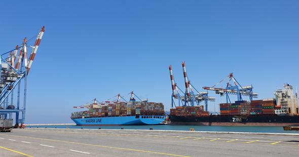 נמל חיפה, צילום: מאור שלום סויסה