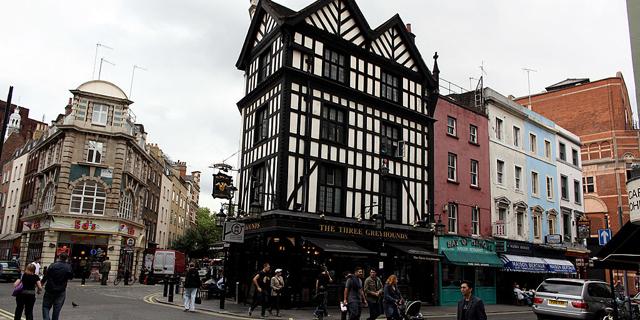 שכונת ויקטוריה ברובע וסטמינסטר, לונדון, צילום: גטי אימג