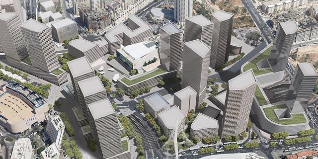 אלקטרה תקים חניון בפרויקט הכניסה לעיר בירושלים ב-320 מיליון שקל
