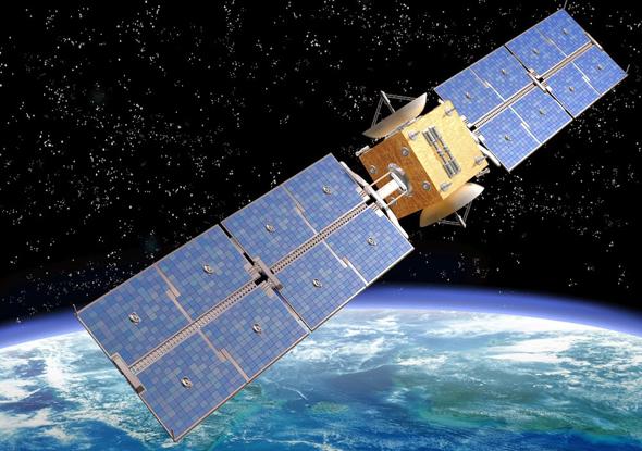 A satellite. Photo: Courtesy