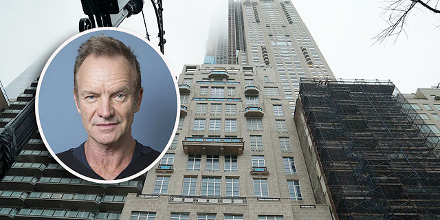 """סטינג רכש פנטהאוז ב""""מגדל המיליארדרים"""" בניו יורק בכ-66 מיליון דולר"""