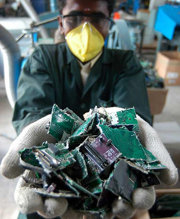 פסולת אלקטרונית , צילום: אי פי איי