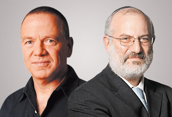 """מימין: בעל השליטה בדסק""""ש אדוארדו אלשטיין ויו""""ר בזק שלמה רודב"""
