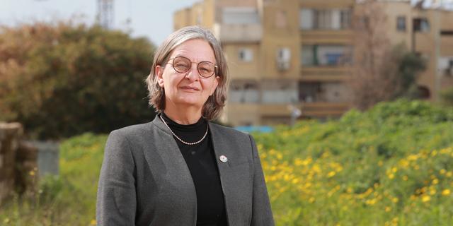 """דניאלה פוסק, יו""""ר הוועדה המחוזית. 71 דונם לשטחים ירוקים ו־71 דונם למבני ציבור, צילום: אוראל כהן"""