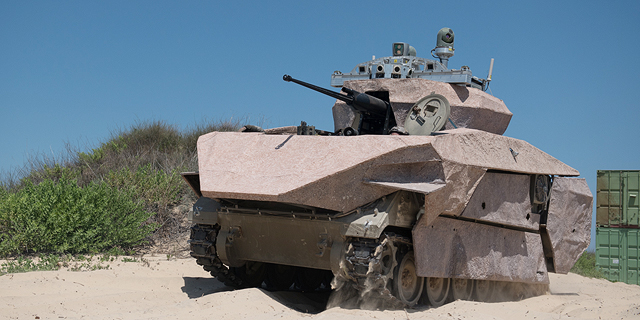 Israel's Defense Ministry Demonstrates New Autonomous Armored Vehicles