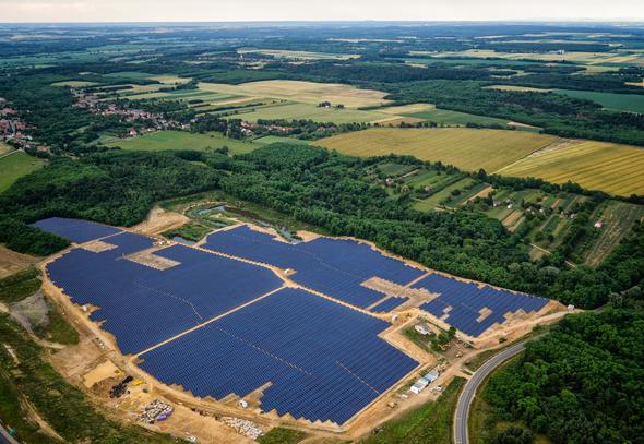 פרויקט סולארי של אנלייט בהונגריה, צילום: אנלייט