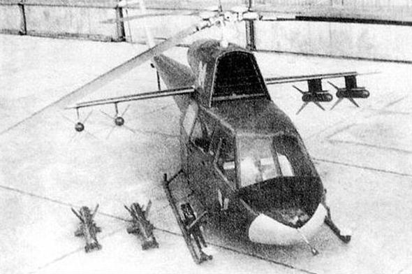 עיצוב הקונספט של מיל ל-MI24, משהו שנראה כמו המסוק האמריקאי, אך חמוש יותר