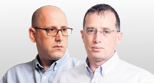 """מנכ""""ל פלאפון רן גוראון ומנכ""""ל סלקום ניר שטרן, צילומים: אוראל כהן, עמית שעל"""