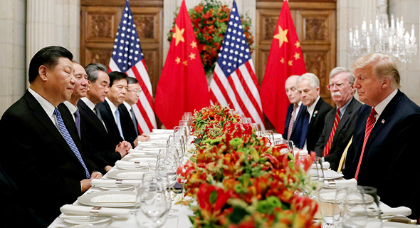 U.S President Donald Trump and Chinese President Xi Jinping at the G20 summit. Photo: AP