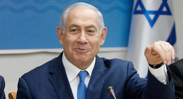 ראש הממשלה בנימין נתניהו, צילום: אוליבייה פיטוסי - הארץ