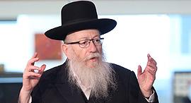 יעקב ליצמן ראיון אולפן ynet, צילום: אבי מועלם