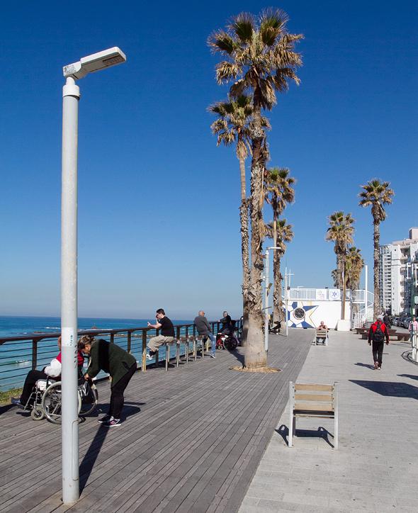 פרויקט החלפת התאורה של חברת אסקו ישראל בבת ים , צילום: אסקו ישראל