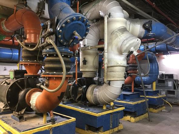 פרויקט התייעלות באנרגיה במרכז דיזינגוף סנטר