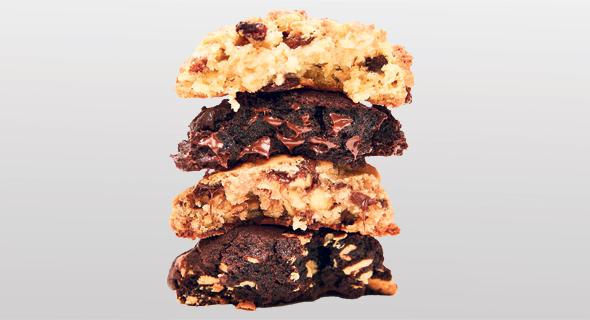 """העוגיות הכי אלוהיות במנהטן. עוגיות שוקו צ'יפס של """"Leavin Bakery"""" , צילום: Levain Bakery"""