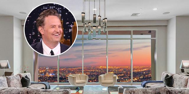 מתיו פרי מוכר את הפנטהאוז שלו בלוס אנג'לס ב-35 מיליון דולר