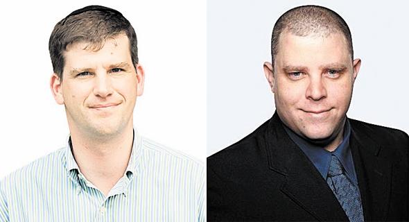 מימין: רן אחיטוב מקרן אנטרי ומייסד קרן אלף מייקל אייזנברג