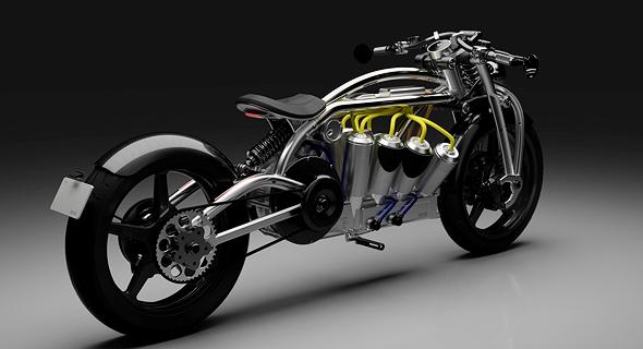 יצרנית האופנועים האמריקאית Curtiss מציעה רק שני דגמים, אבל שניהם לא נראים כמו שום דבר אחר בשוק