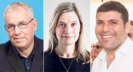 ועידת MindTheTech לונדון 2019 מימין טדי שגיא אמה לויד ו דייוויד גילמור